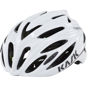 Kask Rapido Casque, white